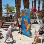 מתקן המים ספלאש במלון לאונרדו פלאזה אילת